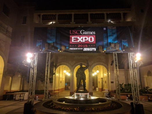 USC Games Expo - Spring 2018